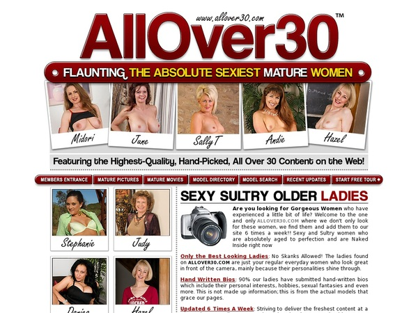 Allover30 Sofort Zugang
