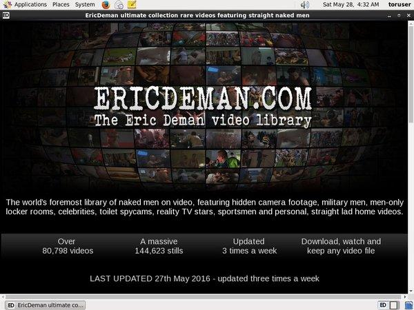 Eric Deman Discount 70% Off