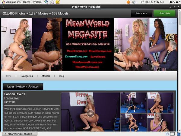 Mean World MegaSite Renew Subscription