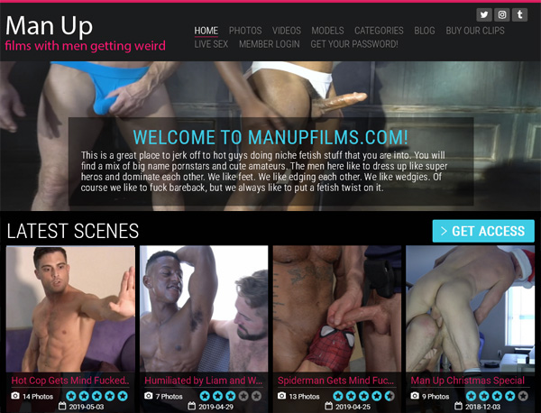 New Man Up Films Porn