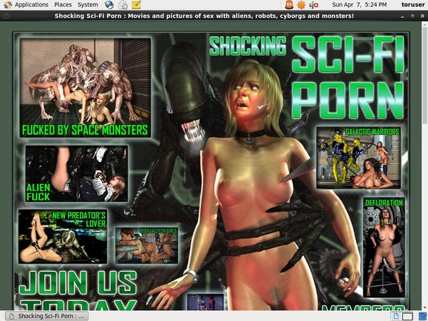 Shocking Sci-Fi Porn With IBAN