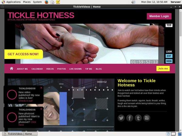 Ticklehotness.com Join Discount