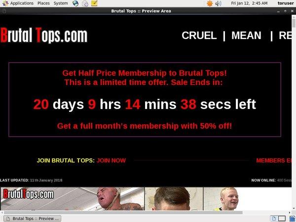 Brutaltops.com ペイパル