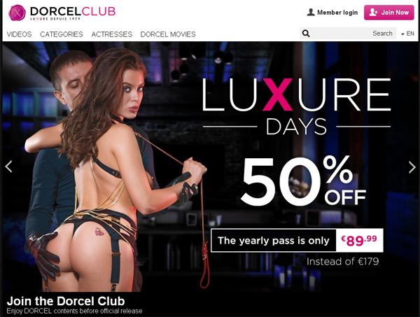 Dorcelclub.com Paypal Account