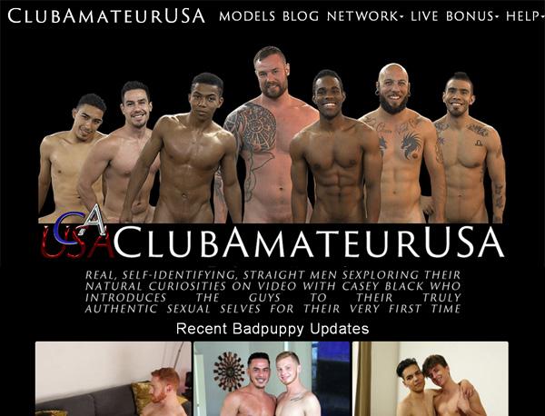 Club Amateur USA Promo Deal