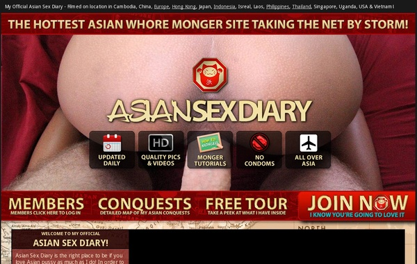 Asiansexdiary.com Discount Deals