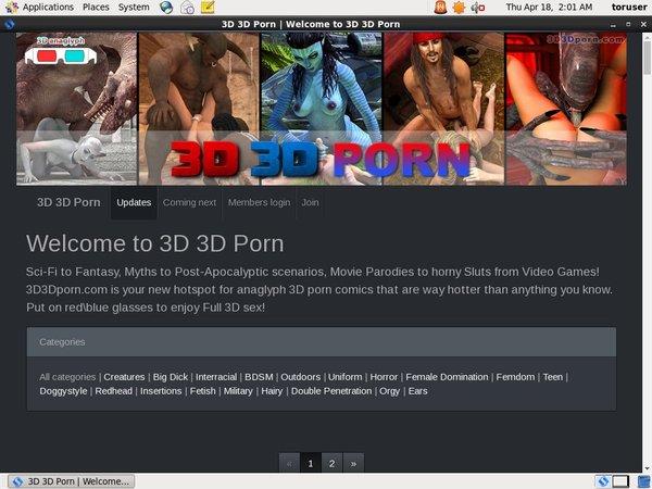 3d3dporn Logins Free