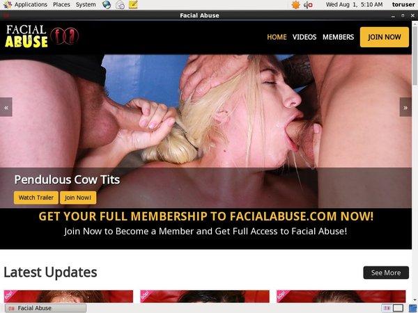 Facial Abuse Deal