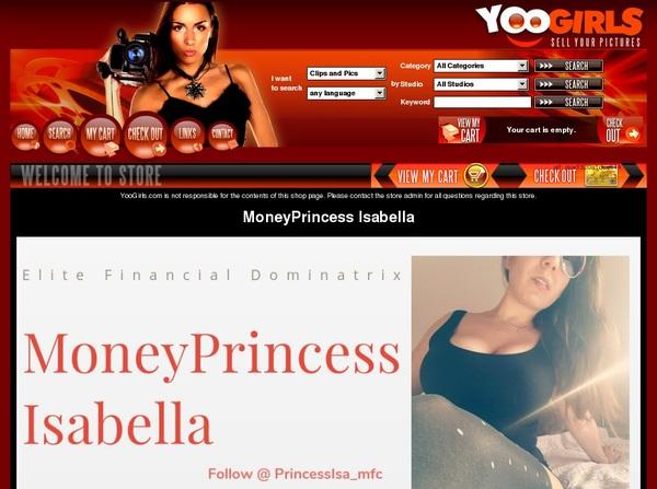 Moneyprincess Isabell Hard